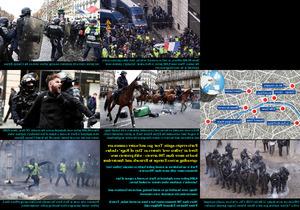 Riots in Paris - Aufstände in Paris