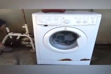 Strom sparen an der Waschmaschine