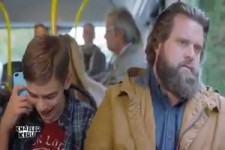 Letztens im Bus