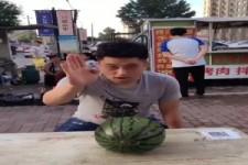 Wo ist die Melone?