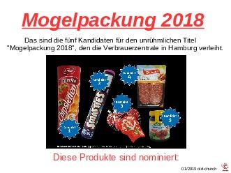 Mogelpackung 2018
