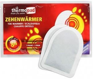 Thermopad Zehen-Wärmer!