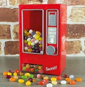 Retro Style Jelly Beans Automat!