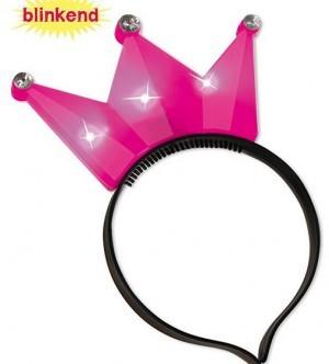 Blinkender Karnevals-Haarreif!
