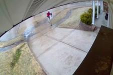 Schneller Abgang zum Briefkasten