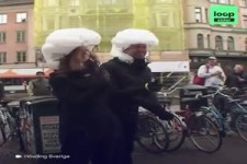 Airbag für Radfahrer
