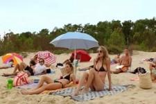 Schicki Micki am Strand