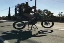Motorrad unter Kontrolle