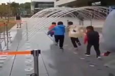Lustiges Wasserspiel