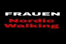 Frauen mit Nordic walking