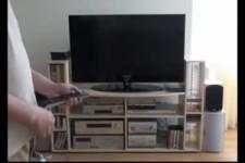 Papas neuer Fernseher