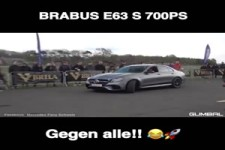 Extrem Tuning Mercedes mit 700 PS