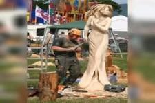 Obraz Zivola sculpteur sur bois