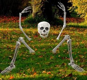 Gruselige Friedhofsdeko für Halloween!