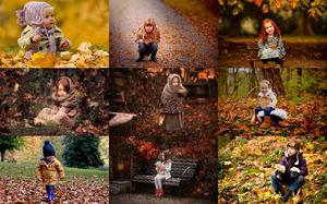 Kids in Fall 1 - Kinder im Herbst 1