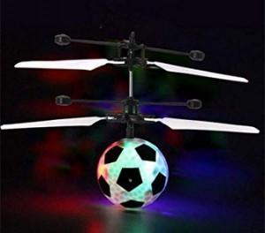 Hubschrauber-Fußball!