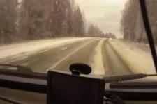 Auto-entgeht-2-Unfällen