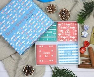 Geldgeschenk Weihnachten PERSONALISIERT!