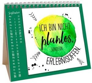 Mini-Kalender mit lustigen Sprüchen!