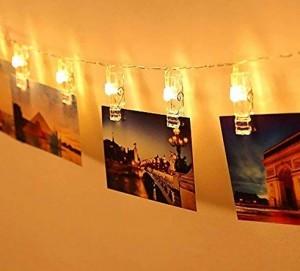 LED-Foto-Clips-Lichterkette!