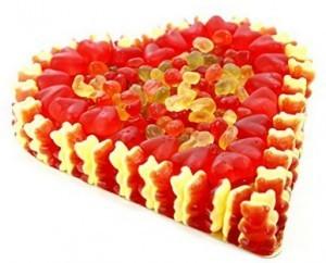 Fruchtgummi Herz roter Traum!