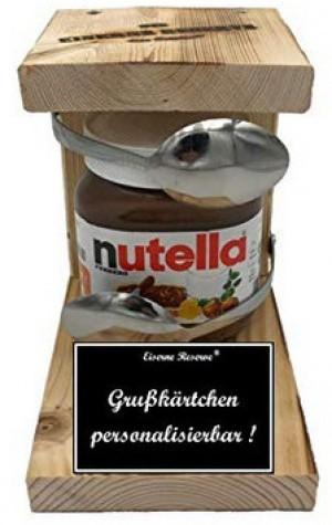 Personalisierbare Eiserne Nutella-Reserve!